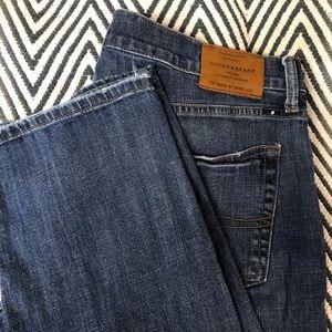 Lucky brand jeans 221 straight leg